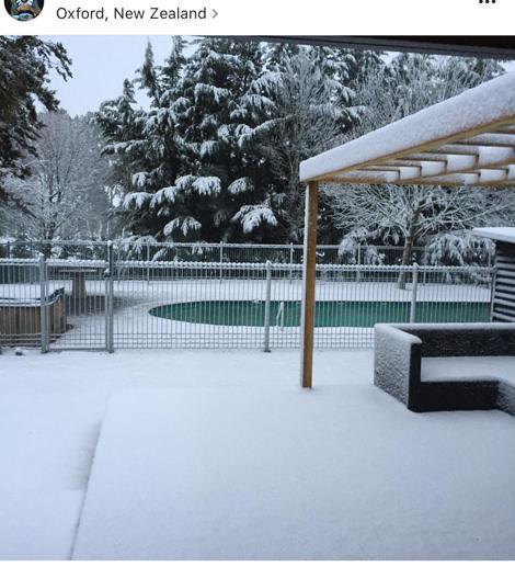 Snow in oxford