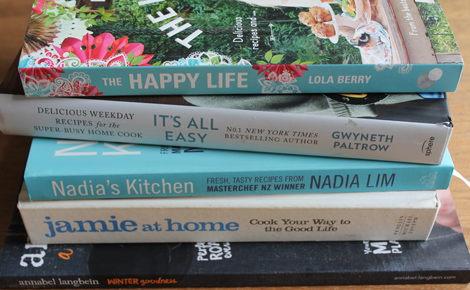 Five fave cookbooks